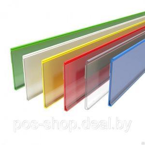 Фото Ценникодержатели на клеящей ленте Ценникодержатель полочный самоклеящийся DBR39