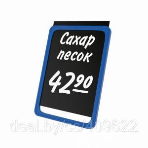 Фото Грифельные таблички и маркеры Черная табличка для нанесения надписей А1-А5