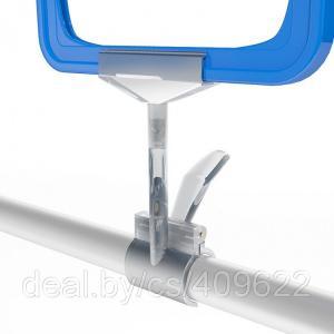Фото Крепежные аксессуары для пластиковых рамок Большой универсальный держатель-зажим для пластиковой рамки CLAMP-T