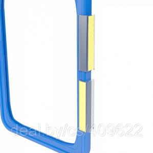 Фото Крепежные аксессуары для пластиковых рамок Клипса для крепления рамок к ровным поверхностям FLU-CLIP