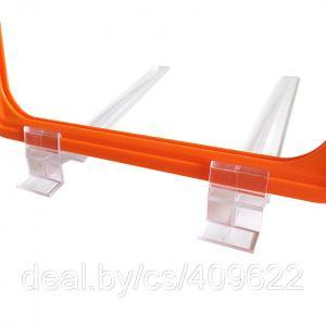 Фото Крепежные аксессуары для пластиковых рамок Держатель рамки под углом 75˚ настольный TBST 75