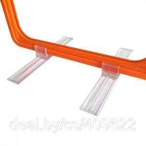 Фото Крепежные аксессуары для пластиковых рамок Держатель рамки под углом 90˚ настольный TBST 90