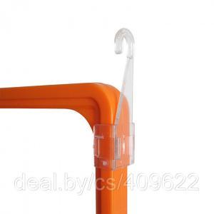 Фото Крепежные аксессуары для пластиковых рамок Крючок для подвешивания рамок на подвесной системе FX-CL