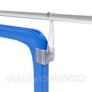 Фото Крепежные аксессуары для пластиковых рамок Крючок с подвижным основанием для подвешивания пластиковых рамок HG-CL
