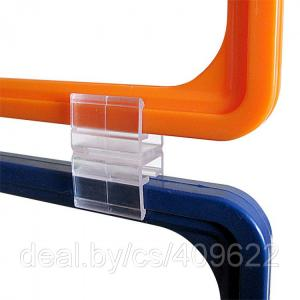Фото Крепежные аксессуары для пластиковых рамок Клипса для подвешивания рамок друг под другом JN-CL