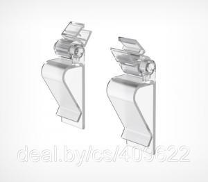 Фото Крепежные аксессуары для пластиковых рамок Универсальная клипса-держатель пластиковой рамки с регулируемым углом наклона KKLC