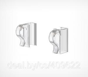 Фото Крепежные аксессуары для пластиковых рамок Клипса для крепления рамок на проволочные корзины KL-CL