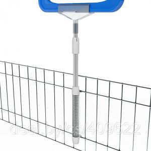 Фото Крепежные аксессуары для пластиковых рамок Универсальный держатель пластиковых рамок на проволочную корзину T-SKOR