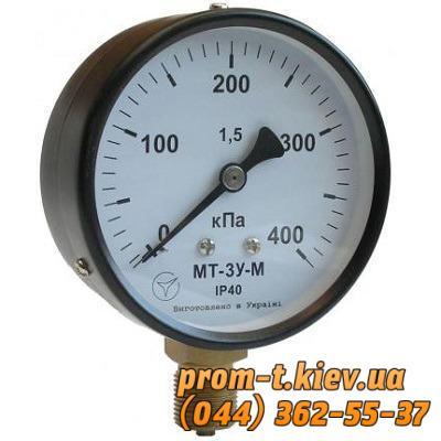 Фото Манометры вакуумные, давления, электроконтактные, Манометр МТ Манометр МТ-3у