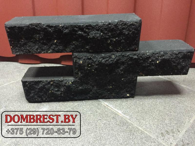 Блоки демлер, цементно-песчаные блоки, декоративные блоки, рваный камень в Бресте