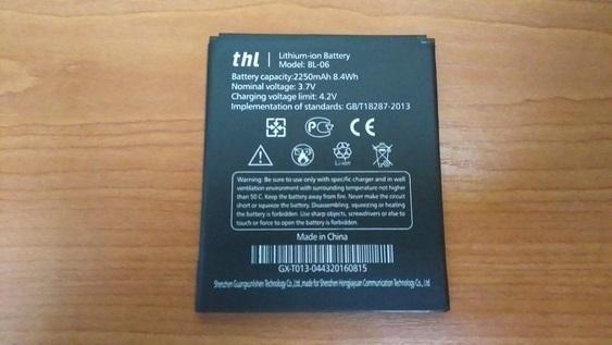 Thl t6s, thl t6pro, thl t6, bl 06, 2250mAh