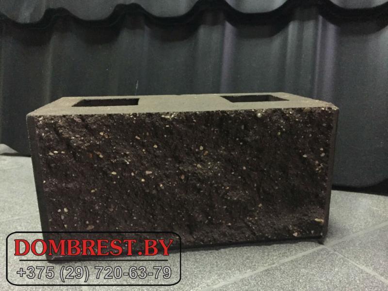 Блок демлер цементно-песчаный декоративный цветной в Бресте