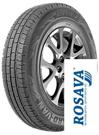 Фото Шины для микроавтобусов и легкогрузовых авто, Зимние  легкогрузовые шины Шина зимняя 205/65R16c Snowgard- VAN