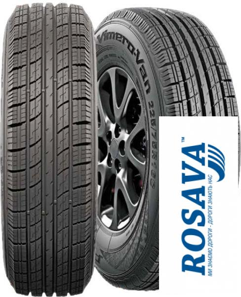 Фото Шины для микроавтобусов и легкогрузовых авто, Всесезонные  легкогрузовые шины Шина всесезонная 225/70R15C Premiorri Vimero-VAN