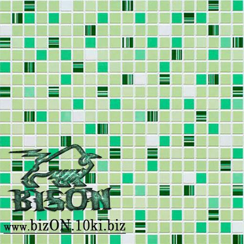 Фото Листовые панели ПВХ Мозаика «КОФЕ ЗЕЛЕНЫЙ»   Листовые панели ПВХ