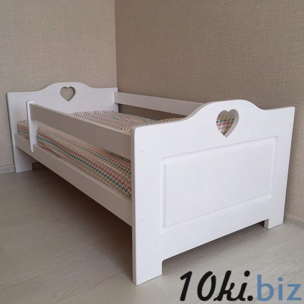 Деревянная кровать Сердечки Детские и подростковые кровати  в Тольятти