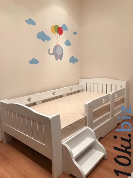 Детская и подростковая кровать 5 Звезд с ящиками и лесенкой Детские и подростковые кровати  в Тольятти
