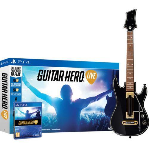 Guitar Hero Live (игра+гитара)