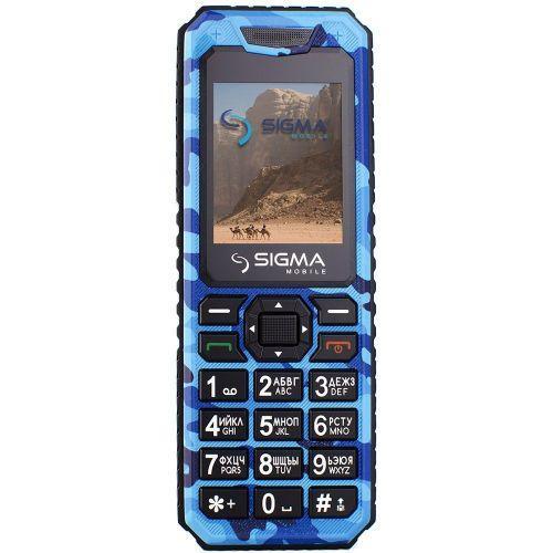 Sigma X-style 11 Dragon blue camouflage
