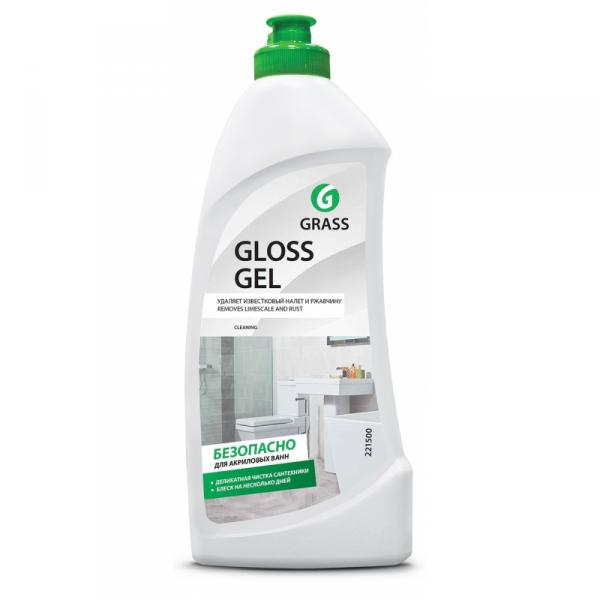 Средство чистящее (гель) для сантехники и кафеля Gloss Gel 0,5 л