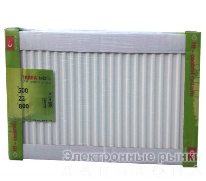 Радиатор стальной TERRA teknik т22 500х400 - Радиаторы стальные (батареи) на рынке Барабашова