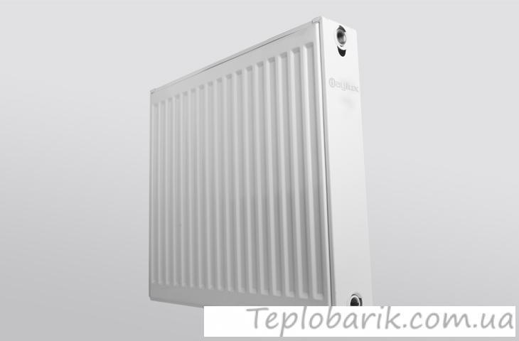 Фото Новинки радиатор Daylux класс22  500H x1200L стал.  бок. подкл.