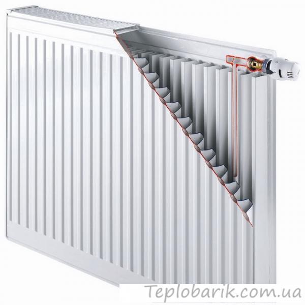 Фото Новинки радиатор Daylux класс 33  500H x 500L стал.  нижн. подкл.