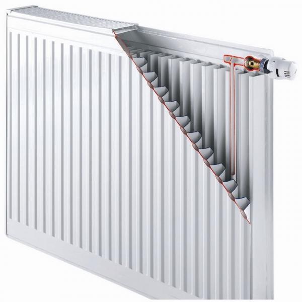 радиатор Daylux класс 33  600H x 900L стал.  нижн. подкл.