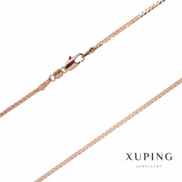 Цепочка Xuping плетение Снек L-50см s-1,8мм цвет золото