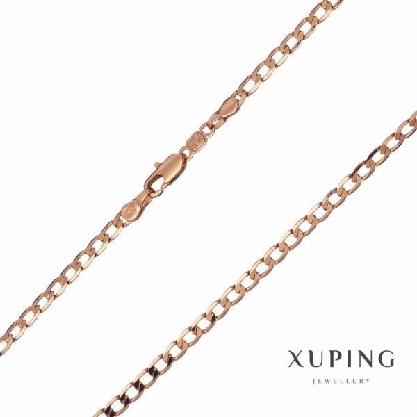 Цепочка Xuping плетение Панцирное L-45см s-2мм цвет золото