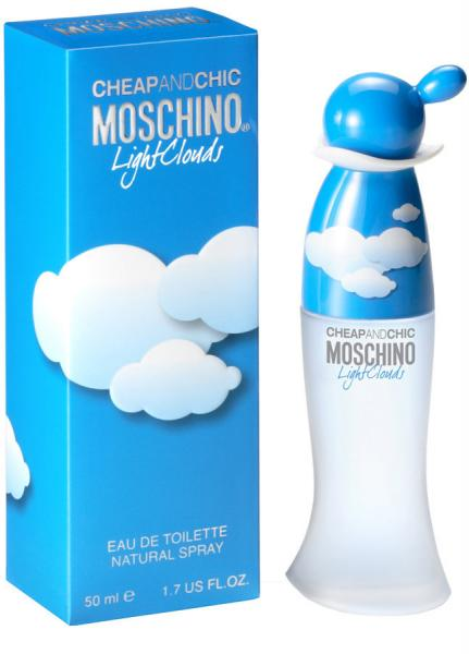 Moschino Cheap And Chic Light Clouds edt 100 ml. женский