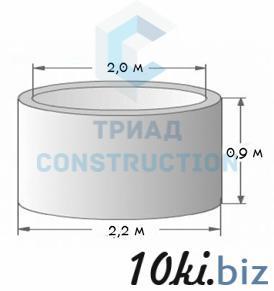 Кольцо колодезное стеновое КС20.9 (диаметр 2 м), ГОСТ 8020-90, Серия 3.900.1-14 Железобетонные кольца, крышки и днища в Алмате