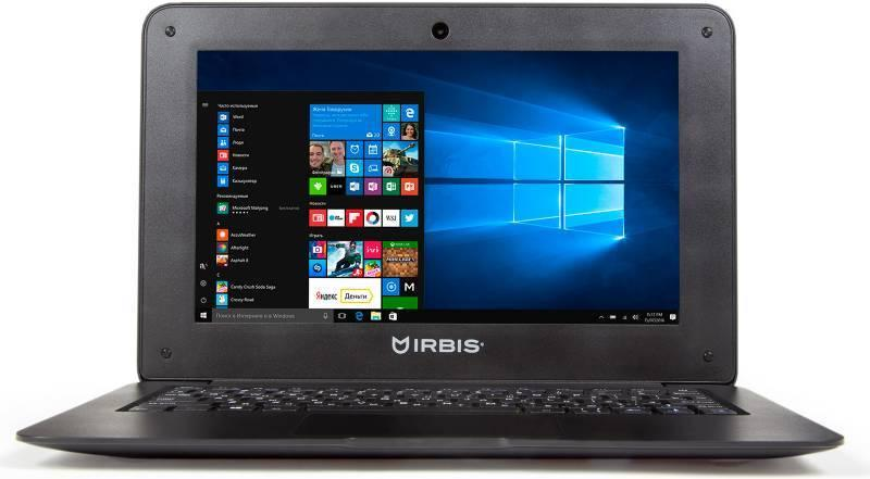 Ноутбук Irbis NB22 (Intel Atom 3735F 1.33 GHz/2048Mb/32Gb/Wi-Fi/Bluetooth/Cam/10.1/1024x600/Windows 10)