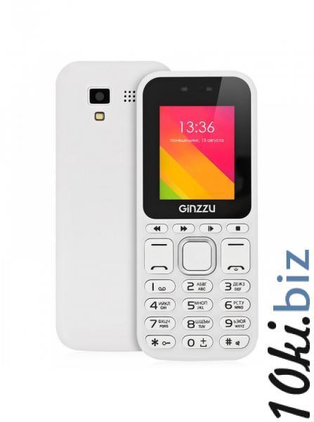 Сотовый телефон Ginzzu M102 DUAL mini White Мобильные телефоны, смартфоны в Москве
