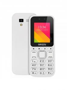 Фото  Сотовый телефон Ginzzu M102 DUAL mini White