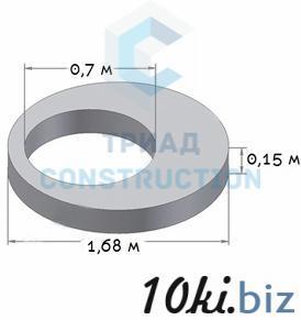 Плита перекрытия колодца 1ПП15-2 (диаметр 1,5 м, усиленная), ГОСТ 8020-90, Серия 3.900.1-14 Плиты-перекрытия в Алмате