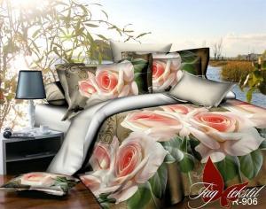 Фото ПОСТЕЛЬНОЕ БЕЛЬЕ ТМ TAG, евро, Ренфорс Комплект постельного белья R906