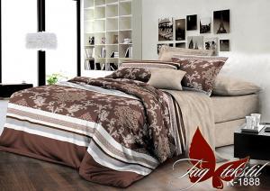 Фото ПОСТЕЛЬНОЕ БЕЛЬЕ ТМ TAG, евро, Ренфорс Комплект постельного белья с компаньоном R1888