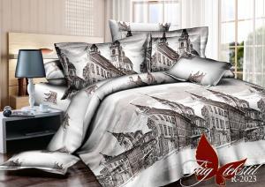Фото ПОСТЕЛЬНОЕ БЕЛЬЕ ТМ TAG, евро, Ренфорс Комплект постельного белья R2023