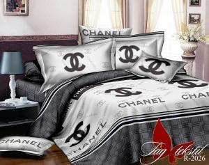 Фото ПОСТЕЛЬНОЕ БЕЛЬЕ ТМ TAG, евро, Ренфорс Комплект постельного белья R2026
