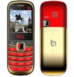 Фото  Сотовый телефон BQ BQM-1402 Lyon Gold Edition Red