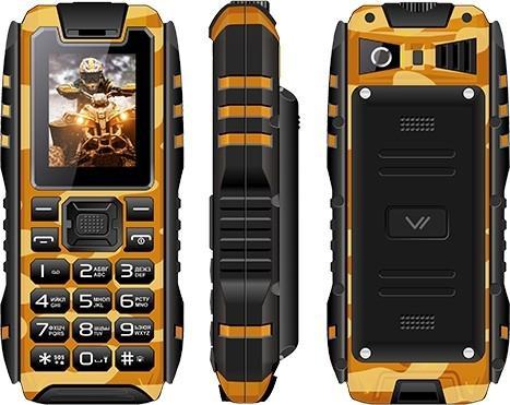 Сотовый телефон Vertex K202 Khaki Brown