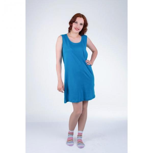 Сорочка женская 14С25, размер 48, цвет индиго МИКС