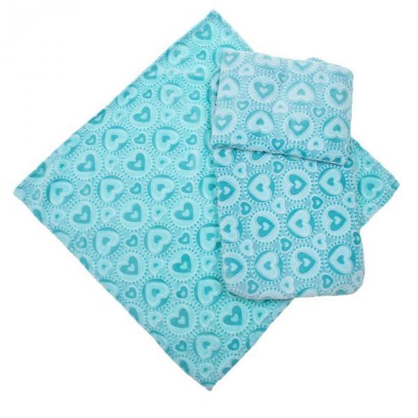Набор для коляски (3 предмета), цвет голубой 22100