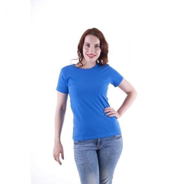 Футболка женская, размер 52-54 (XXL), цвет синий (арт.VSE25prn)