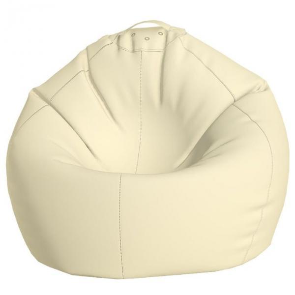 Кресло-мешок Малыш, ткань нейлон, цвет белый
