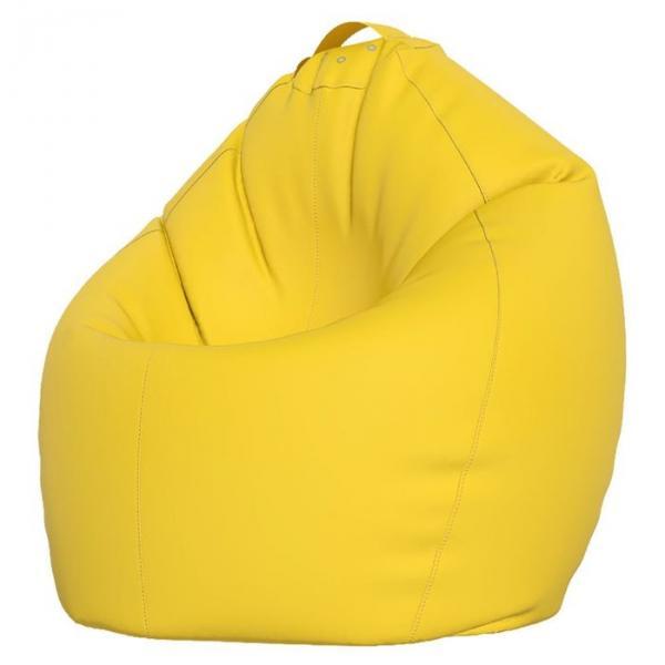 Кресло-мешок Стандарт, ткань нейлон, цвет желтый