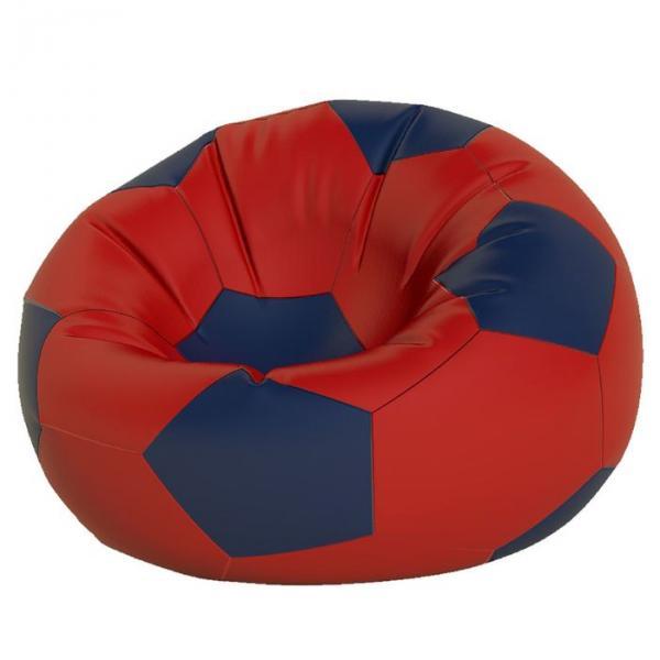 Кресло-мешок Мяч большой, ткань нейлон, цвет красный, темно синий