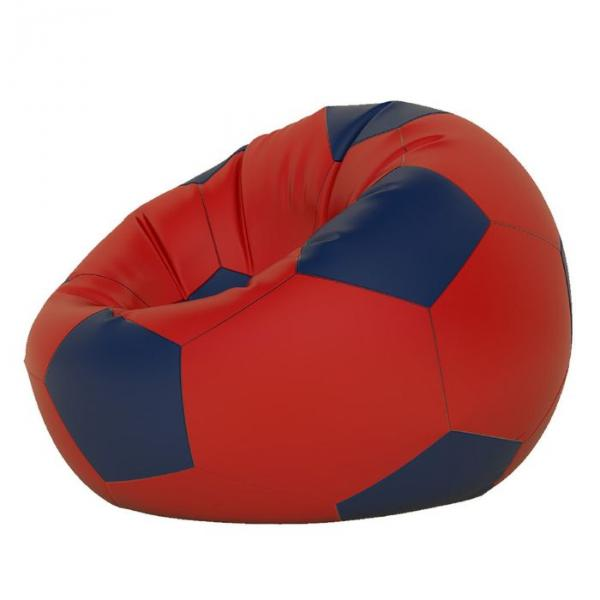 Кресло-мешок Мяч малый, ткань нейлон, цвет красный, темно синий