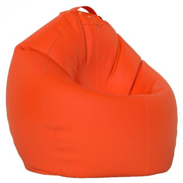 Кресло-мешок XL, ткань нейлон, цвет оранжевый люмин